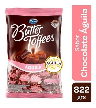 Arcor Caramelos Butter Toffees Chocolate Aguila X Kg