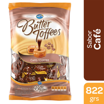Arcor Caramelos Butter Toffees Cafe X Kg