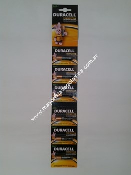 Duracell Pilas Aaa X 6 Unid