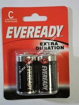 Eveready Pila C (mediana) X 2 Unid