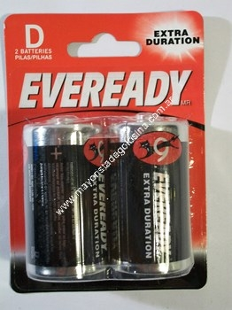 Eveready Pila D (grande) X 2 Unid