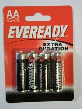 Eveready Pila Aa X 4 Unid