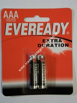 Eveready Pila Aaa X 2 Unid