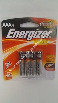 Energizer Aaa X 4 Unid